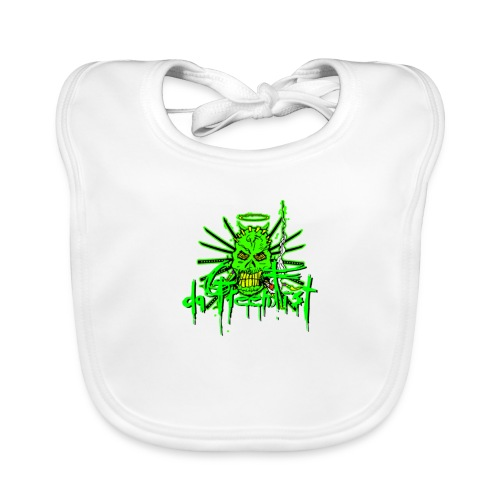 GFSkullOnlyColorShirt - Baby Organic Bib