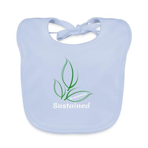 Sustained Sweatshirt Navy - Baby økologisk hagesmæk