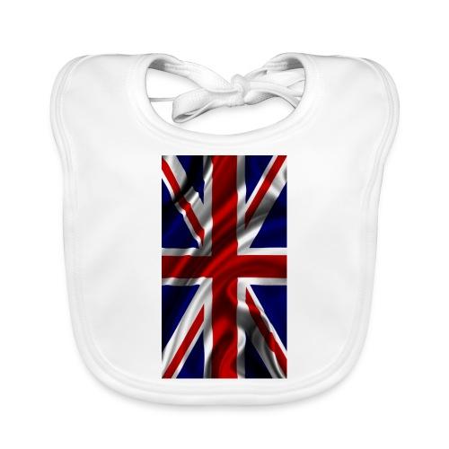 English flag - Baby Organic Bib