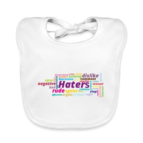 Haters - Babero ecológico bebé