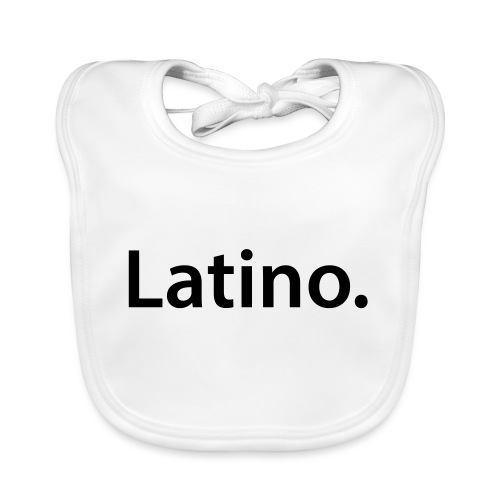 Latino 1 - Babero ecológico bebé