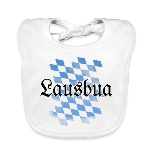Boarischer Lausbua aus Bayern (Rauten) - Baby Bio-Lätzchen
