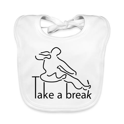 Take a break martial artist - Baby Organic Bib