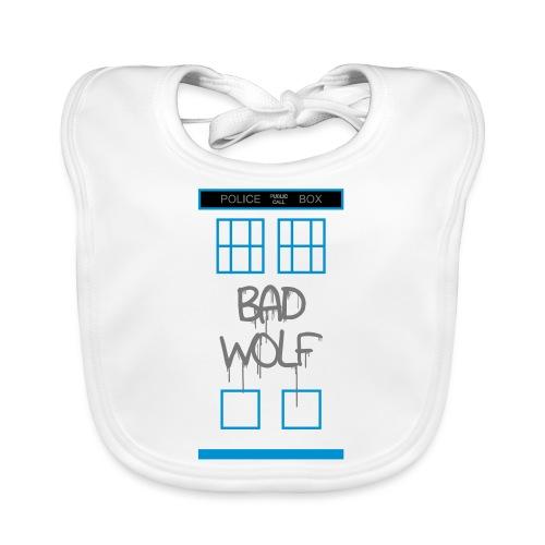 Doctor Who Bad Wolf - Bavaglino ecologico per neonato