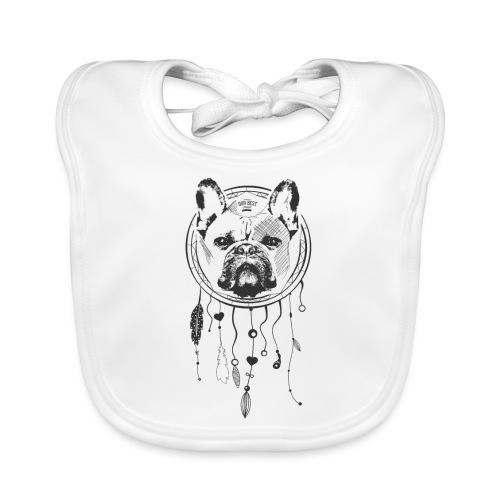 French Bulldog Dream - Französische Bulldogge - Baby Bio-Lätzchen