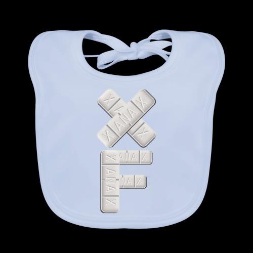 XF Xanax Logo - Baby Bio-Lätzchen
