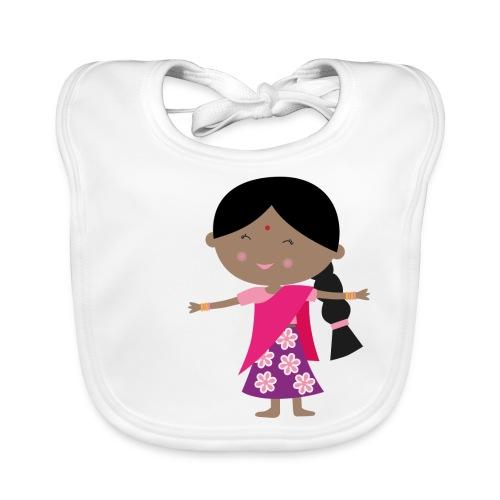 Happy Meitlis - Indien - Baby Bio-Lätzchen