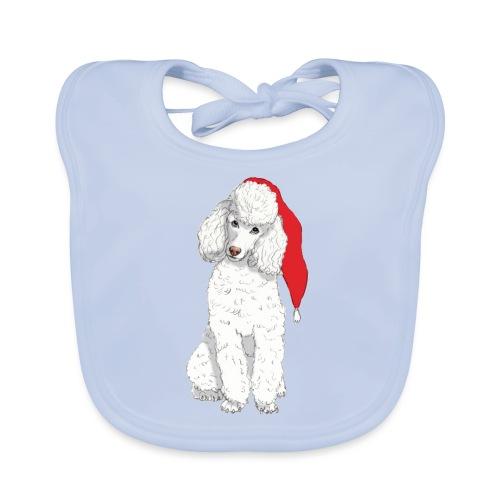 Poodle toy W - christmas - Baby økologisk hagesmæk