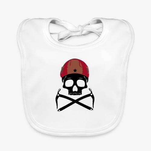 Climber Pirats skull black - Climbing Pirates - Organic Baby Bibs