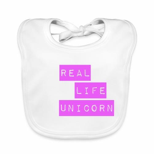 Real life unicorn - Baby Organic Bib