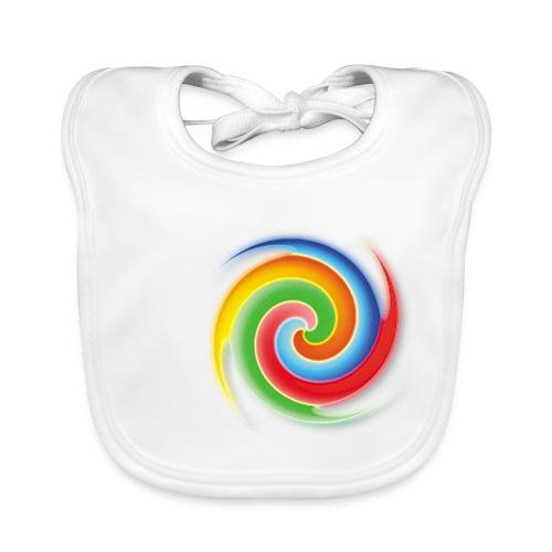 deisold rainbow Spiral - Baby Bio-Lätzchen