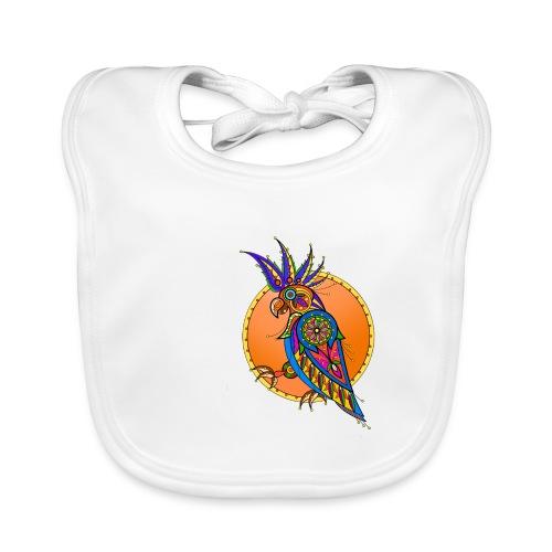 Papagei - Baby Bio-Lätzchen