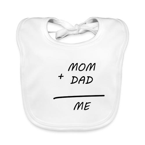 Mom Dad me - Baby Bio-Lätzchen