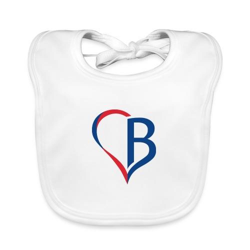 Logo Blau/Rot - Baby Bio-Lätzchen