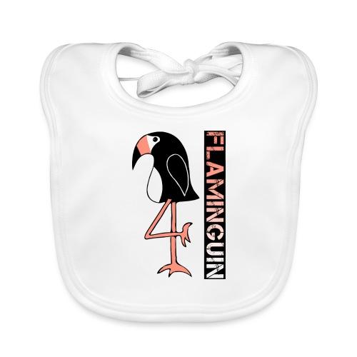 Pinguin Flamingo Flaminguin - Baby Bio-Lätzchen