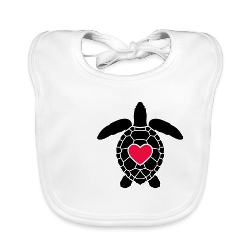 Turtle Love - Baby Organic Bib