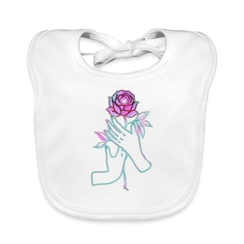 Fiore - Bavaglino ecologico per neonato