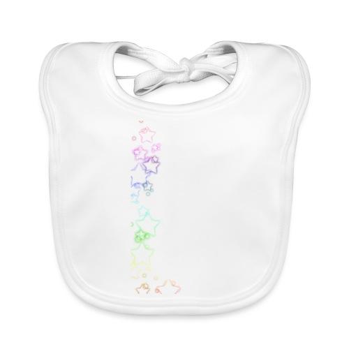 Rainbow Stars - Baby Organic Bib