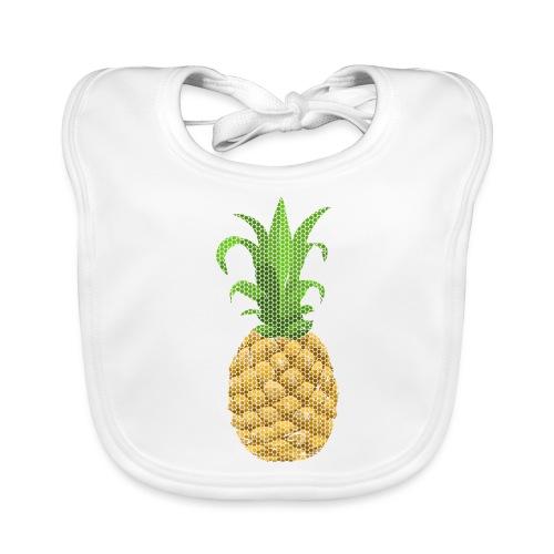 Dots Ananas - Baby Bio-Lätzchen