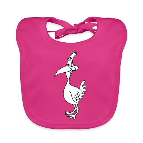 Vogel Design - Baby Bio-Lätzchen