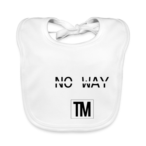 NO WAY - Baby Organic Bib