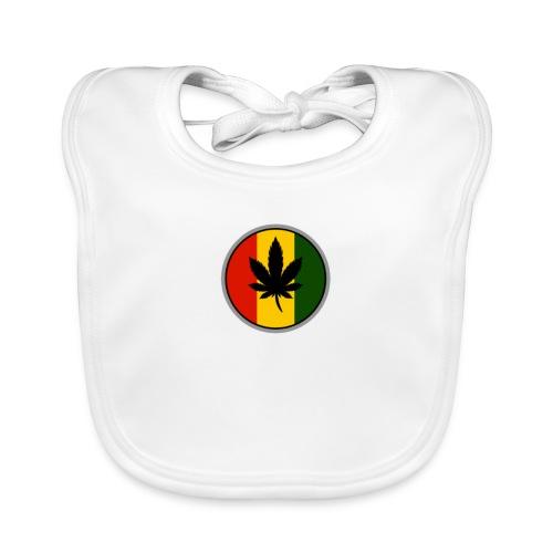 weed logo - Baby økologisk hagesmæk