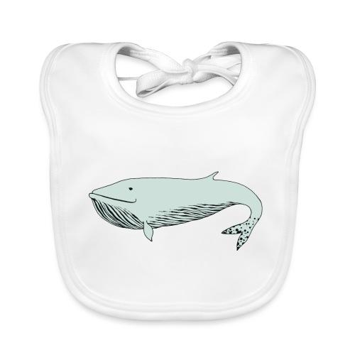 Blue whale - Baby Organic Bib