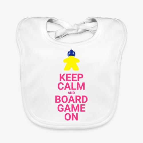 Keep calm and boardgame on - Økologisk babysmekke