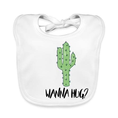 Wanna Hug? - Baby Bio-Lätzchen