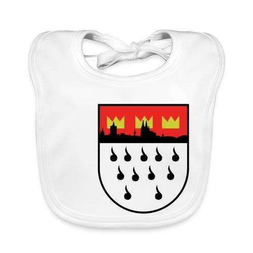 Köln Wappen Modern - Baby Bio-Lätzchen