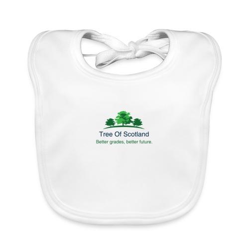 TOS logo shirt - Organic Baby Bibs