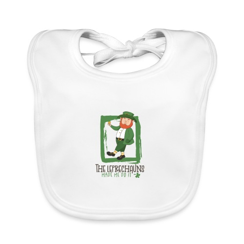 St. Patrick's Day - The goblins are to blame - Baby Organic Bib