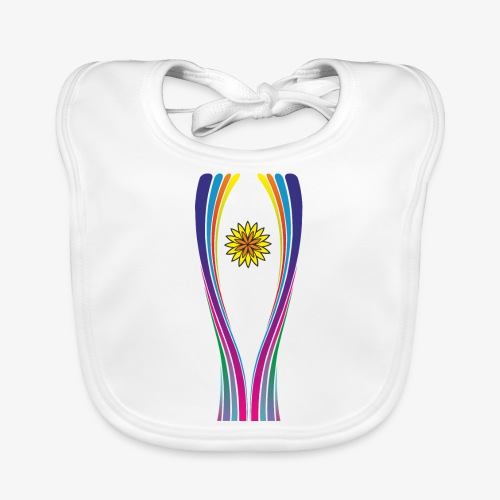 SOLRAC World Cup - Babero de algodón orgánico para bebés