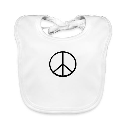 peace - Ekologisk babyhaklapp