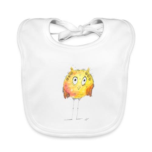 Happy yellow bird - Baby Bio-Lätzchen