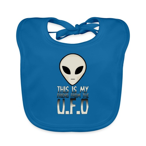 My Friend From The UFO - Organic Baby Bibs
