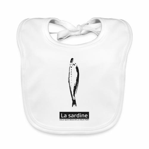 La sardine qui a bouché le vieux port de marseille - Bavoir bio Bébé