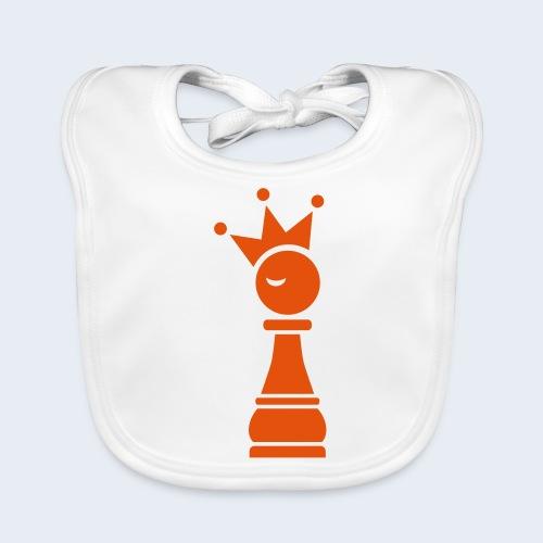 Winky Chess King - Bio-slabbetje voor baby's