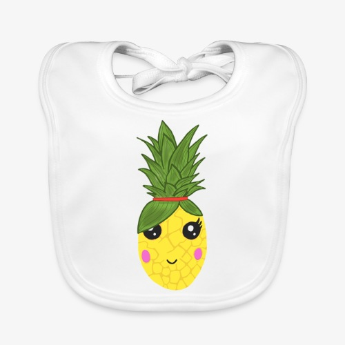 Pineapple Kawaii - Bavoir bio Bébé
