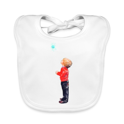 The Boy and the Blue - Baby Organic Bib