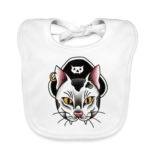 Piratecat - Bavaglino ecologico per neonato