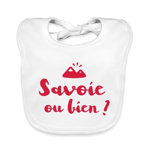 Savoie ou bien - Bavoir bio Bébé