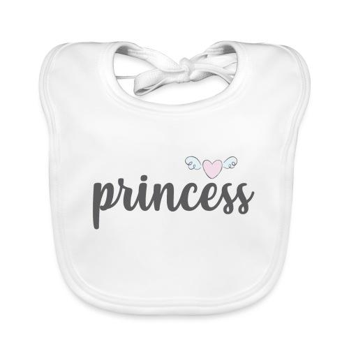 Princess2 - Babero ecológico bebé