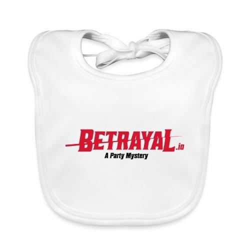 00418 Betrayal logo - Babero de algodón orgánico para bebés