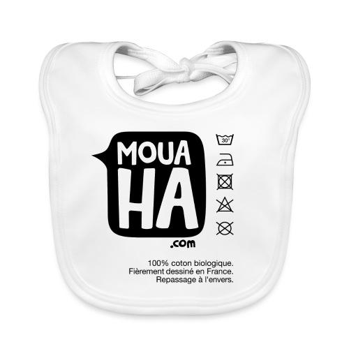 MOUAHA étiquette - Bavoir bio Bébé