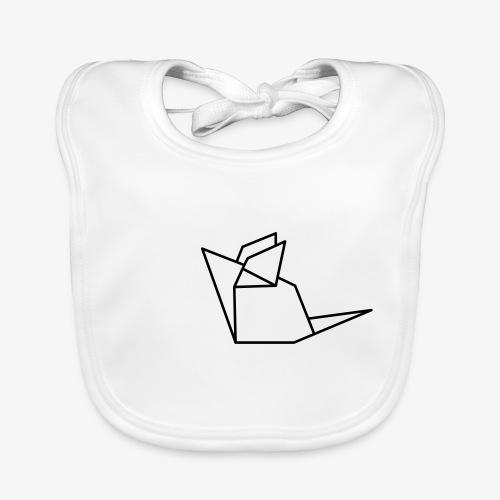 Maus Mäuschen Origami - Baby Bio-Lätzchen