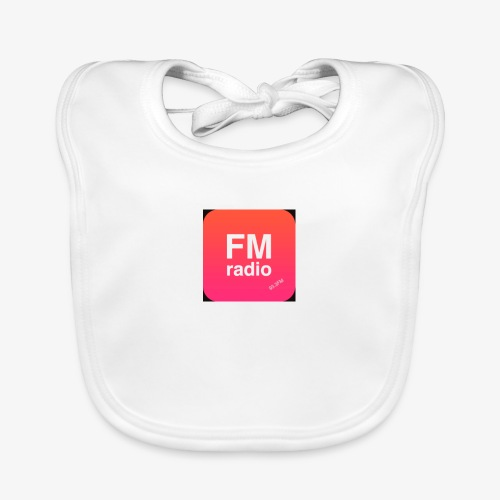 logo radiofm93 - Bio-slabbetje voor baby's