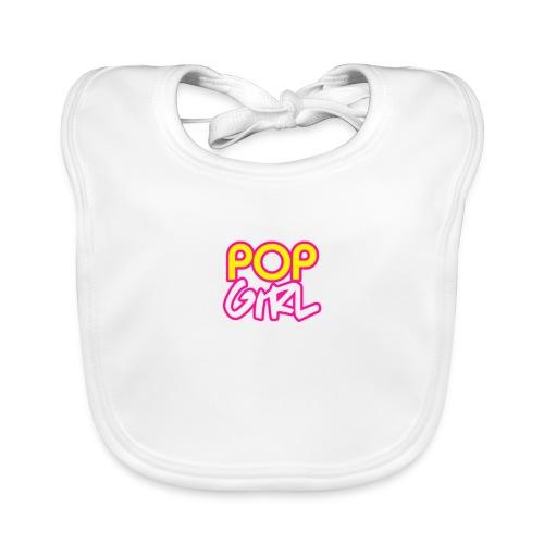 Pop Girl logo - Organic Baby Bibs