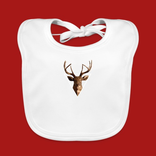 Deer-Head GOLD - Baby økologisk hagesmæk