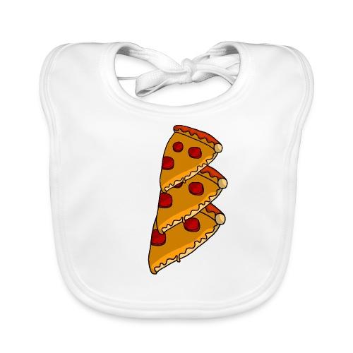pizza - Baby økologisk hagesmæk